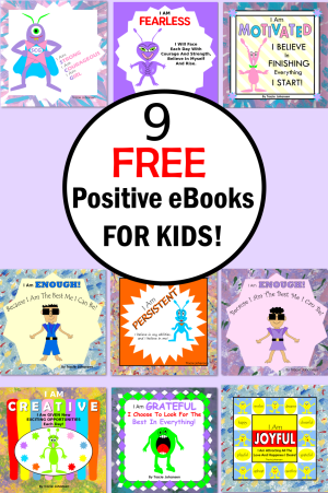 free fun positive character ebooks for children
