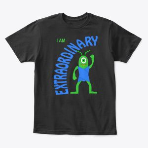 I Am Extraordinary Toddler - Youth T-Shirt Black