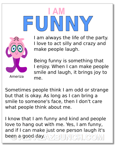 I Am Funny Poster