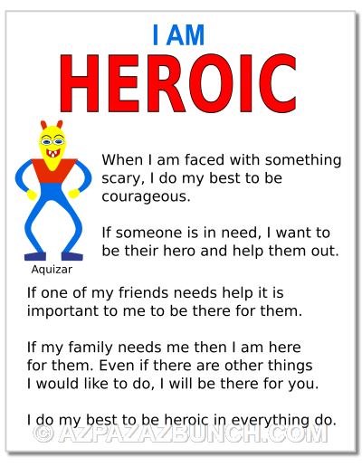 I Am Heroic Poster
