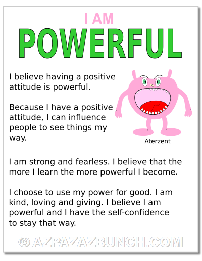 I Am Powerful Poster